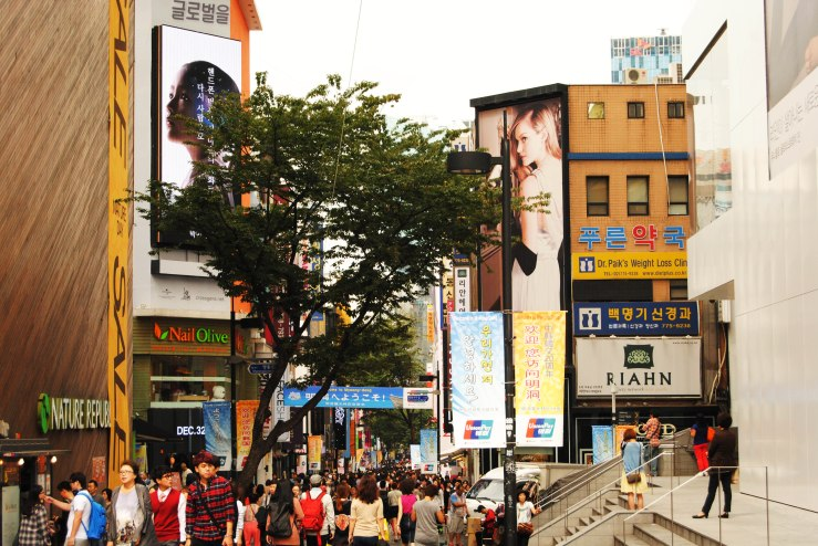 Myeong-dong, Seoul  명동, 서울