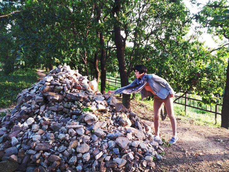 Stone Stacking in Il-san