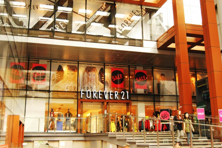 FOEVER 21 in Myeongdong, 명동